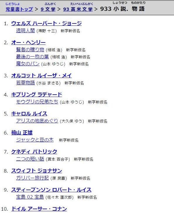 英米文学>小説、物語・933