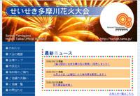 2008 せいせき多摩川花火大会